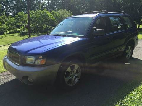 2003 Subaru Forester for sale at D & M Auto Sales & Repairs INC in Kerhonkson NY