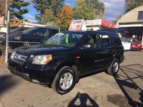2007 Honda Pilot for sale at D & M Auto Sales & Repairs INC in Kerhonkson NY