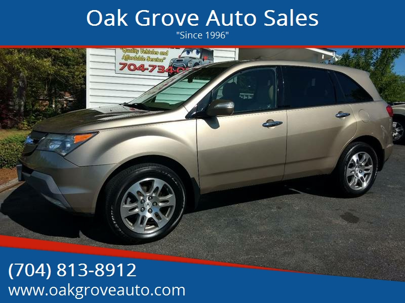 Acura Mdx SHAWD Dr SUV In Kings Mountain NC Oak Grove Auto - 2007 acura mdx rear shocks