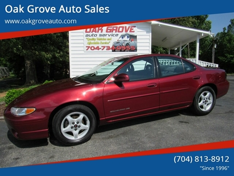 2001 Pontiac Grand Prix for sale in Kings Mountain, NC