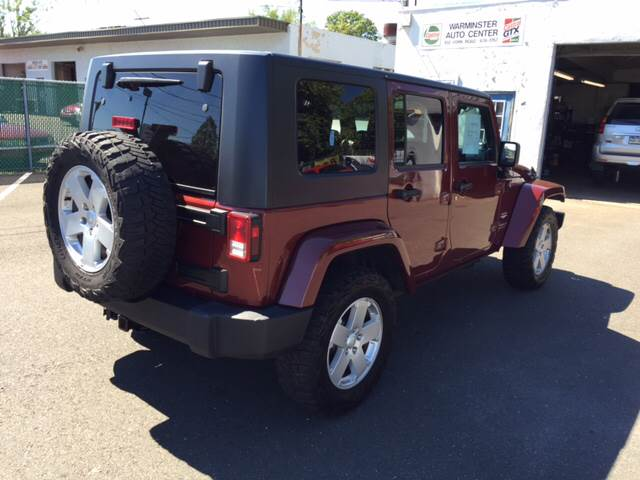 2007 Jeep Wrangler Unlimited 4x4 Sahara 4dr SUV - Warminster PA