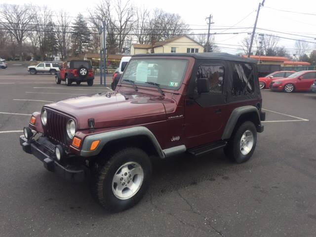 2002 Jeep Wrangler Sport 4WD 2dr SUV - Warminster PA