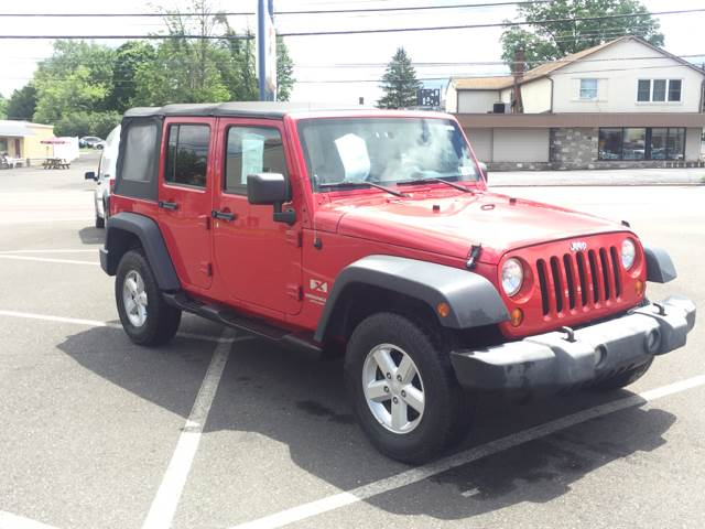 2007 Jeep Wrangler Unlimited 4x4 X 4dr SUV - Warminster PA