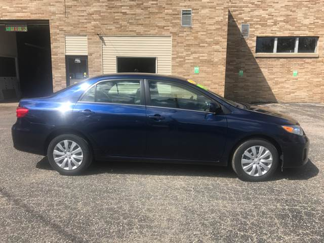 2013 Toyota Corolla for sale at BK2 Auto Sales in Beloit WI