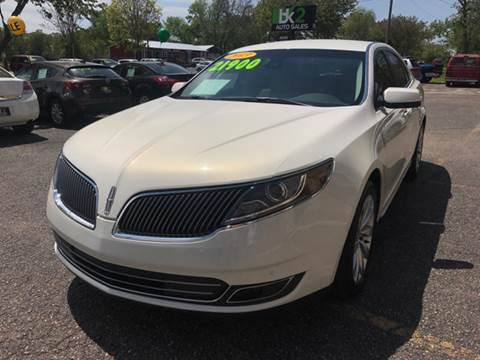 2013 Lincoln MKS for sale at BK2 Auto Sales in Beloit WI