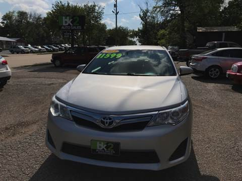 2013 Toyota Camry for sale at BK2 Auto Sales in Beloit WI