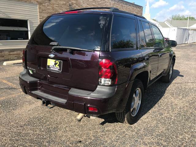 2008 Chevrolet TrailBlazer for sale at BK2 Auto Sales in Beloit WI