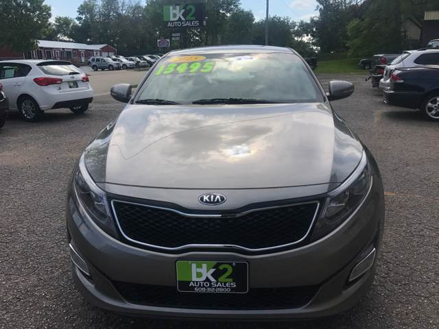 2015 Kia Optima for sale at BK2 Auto Sales in Beloit WI