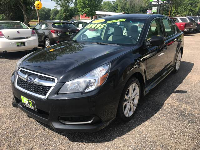 2013 Subaru Legacy for sale at BK2 Auto Sales in Beloit WI