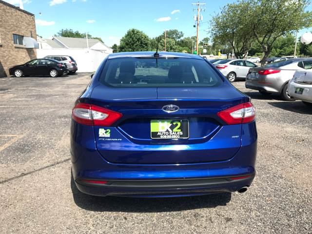 2013 Ford Fusion for sale at BK2 Auto Sales in Beloit WI