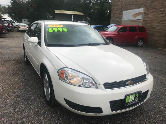 2008 Chevrolet Impala for sale at BK2 Auto Sales in Beloit WI