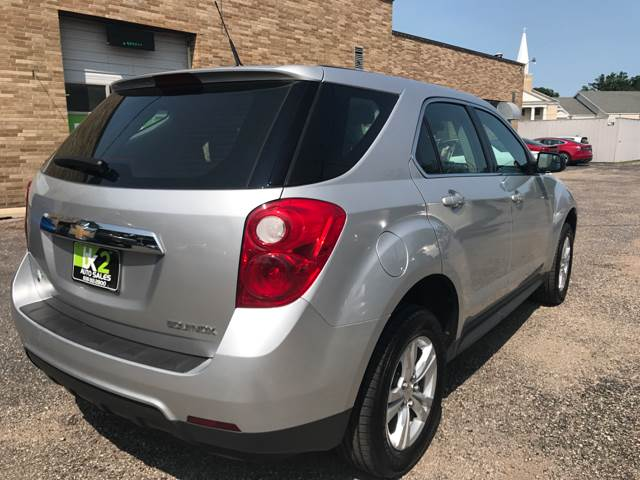 2012 Chevrolet Equinox for sale at BK2 Auto Sales in Beloit WI