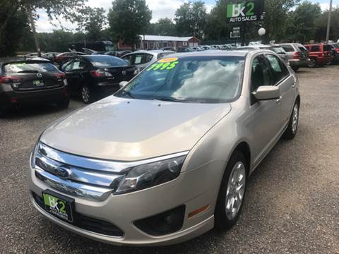 2010 Ford Fusion for sale at BK2 Auto Sales in Beloit WI