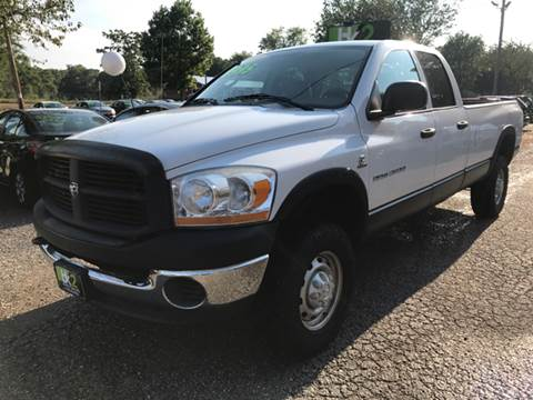 2006 Dodge Ram Pickup 3500 for sale at BK2 Auto Sales in Beloit WI