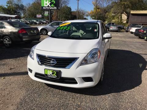 2012 Nissan Versa for sale at BK2 Auto Sales in Beloit WI