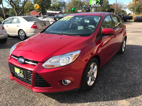 2012 Ford Focus for sale at BK2 Auto Sales in Beloit WI
