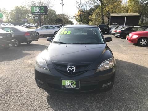 2008 Mazda MAZDA3 for sale at BK2 Auto Sales in Beloit WI