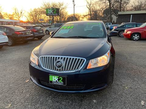 2010 Buick LaCrosse for sale at BK2 Auto Sales in Beloit WI