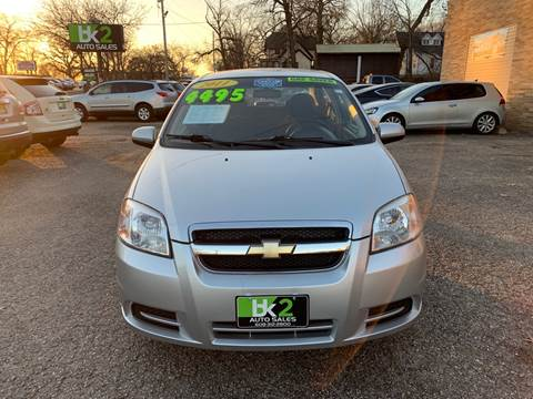 2011 Chevrolet Aveo for sale at BK2 Auto Sales in Beloit WI
