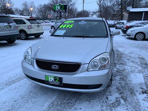 2008 Kia Optima for sale at BK2 Auto Sales in Beloit WI