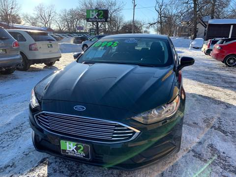 2017 Ford Fusion for sale at BK2 Auto Sales in Beloit WI