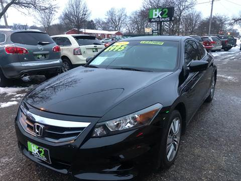 2011 Honda Accord for sale at BK2 Auto Sales in Beloit WI