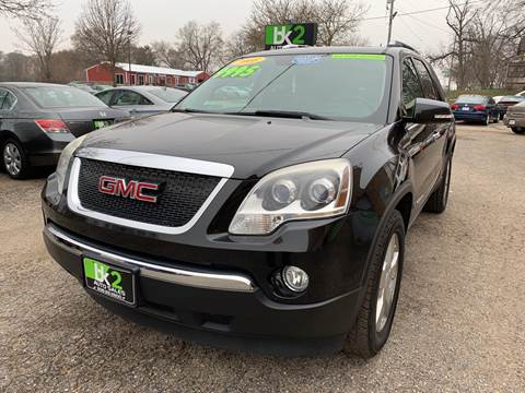 2008 GMC Acadia for sale at BK2 Auto Sales in Beloit WI