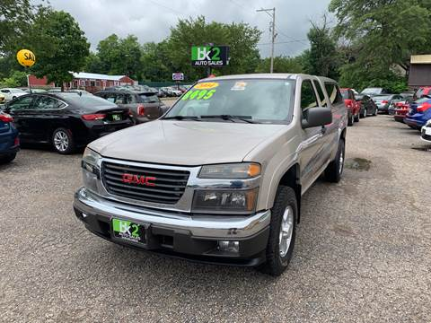 2004 GMC Canyon for sale in Beloit, WI