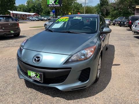 2013 Mazda MAZDA3 for sale at BK2 Auto Sales in Beloit WI