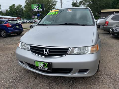 2002 Honda Odyssey for sale at BK2 Auto Sales in Beloit WI