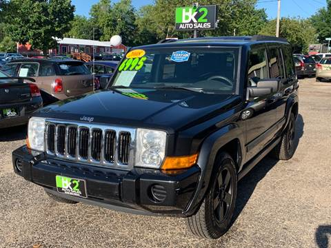 2008 Jeep Commander for sale at BK2 Auto Sales in Beloit WI