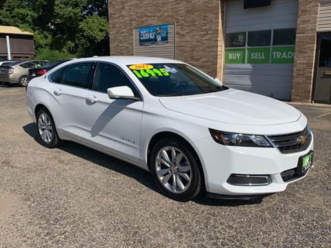 2017 Chevrolet Impala for sale at BK2 Auto Sales in Beloit WI