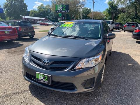 2012 Toyota Corolla for sale at BK2 Auto Sales in Beloit WI