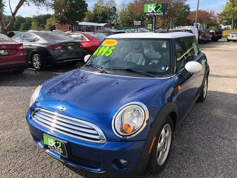 2009 MINI Cooper for sale at BK2 Auto Sales in Beloit WI