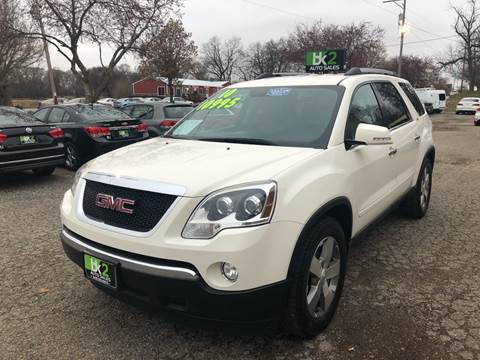 2010 GMC Acadia for sale at BK2 Auto Sales in Beloit WI