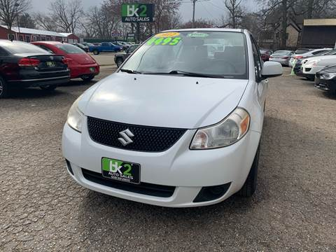 2012 Suzuki SX4 for sale at BK2 Auto Sales in Beloit WI