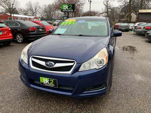 2011 Subaru Legacy for sale at BK2 Auto Sales in Beloit WI
