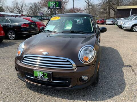 2012 MINI Cooper Hardtop for sale at BK2 Auto Sales in Beloit WI