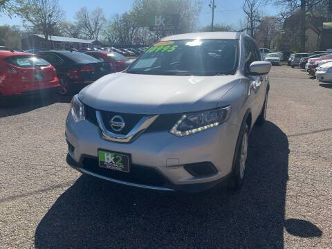 2016 Nissan Rogue for sale at BK2 Auto Sales in Beloit WI