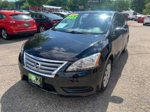 2015 Nissan Sentra for sale at BK2 Auto Sales in Beloit WI