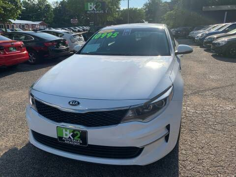 2017 Kia Optima for sale at BK2 Auto Sales in Beloit WI