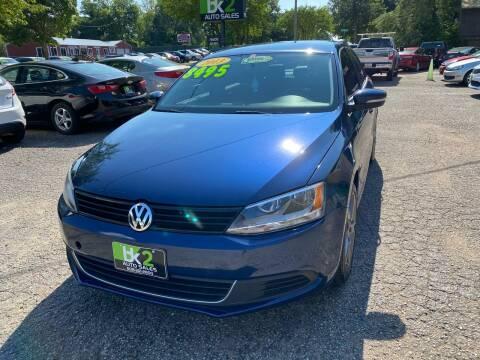 2013 Volkswagen Jetta for sale at BK2 Auto Sales in Beloit WI