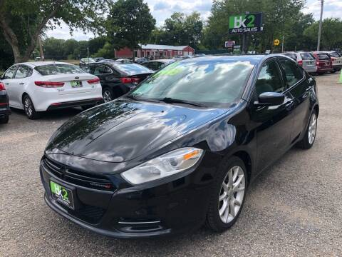 2013 Dodge Dart for sale at BK2 Auto Sales in Beloit WI