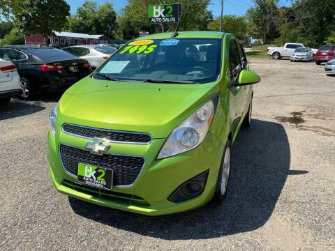 2014 Chevrolet Spark for sale at BK2 Auto Sales in Beloit WI