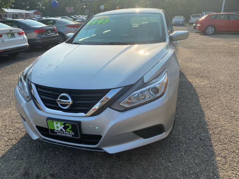 2016 Nissan Altima for sale at BK2 Auto Sales in Beloit WI