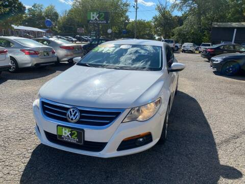 2010 Volkswagen CC for sale at BK2 Auto Sales in Beloit WI