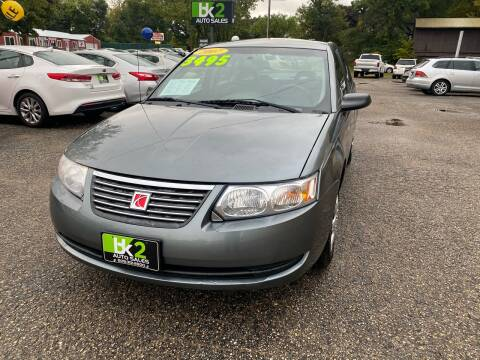 2007 Saturn Ion for sale at BK2 Auto Sales in Beloit WI