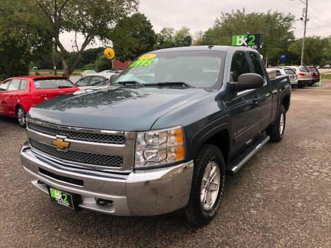 2012 Chevrolet Silverado 1500 for sale at BK2 Auto Sales in Beloit WI