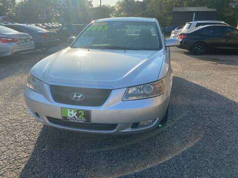 2007 Hyundai Sonata for sale at BK2 Auto Sales in Beloit WI