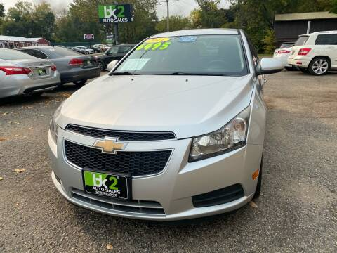 2011 Chevrolet Cruze for sale at BK2 Auto Sales in Beloit WI